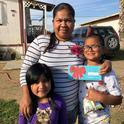 The voices of San Joaquin Valley parents and families informed influential policy briefs on school meal programs. Photo courtesy of Dolores Huerta Foundation