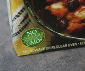 GMO labeling is not required in the United States. Some manufacturers label foods that do not contain GMOs.