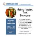 Ask a Master food preserver Pickling 2