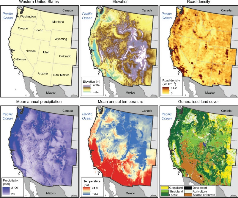 Center For Forestry At Uc Berkeley Center For Forestry At Uc Berkeley - Us-wildfire-activity-map