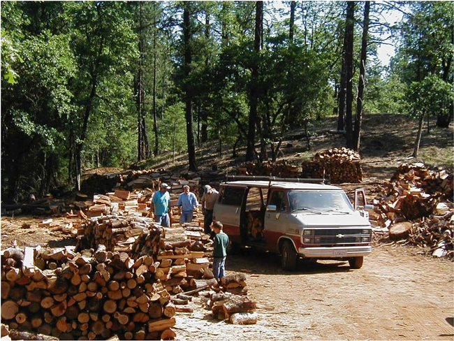 Firewood Sale, Weaverville Community Forest