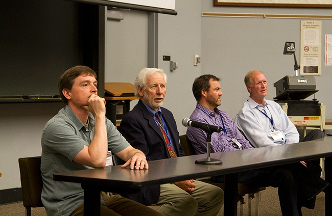 Keynote Panel: Steve Sillett, Sandy Lydon, Ruskin Hartley, Ron Jarvis © Jodi Frediani