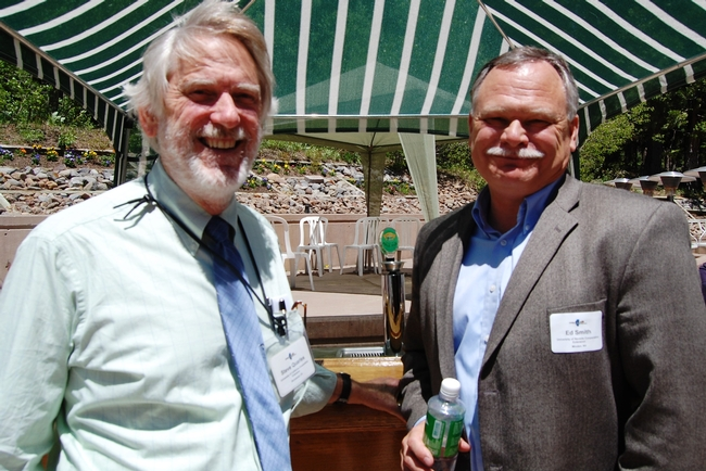 Steve Quarles and Ed Smith at Granlibakken Resort