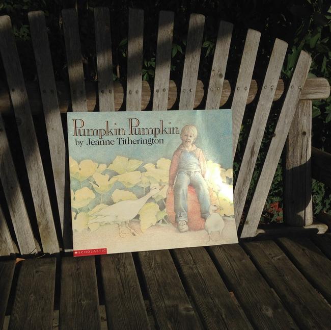 Event based on children's literature Pumpkin Pumpkin by Jeanne Titherington