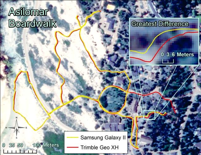 Asilomoar GPS