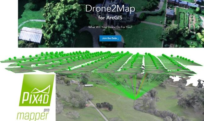 Pix4d Drone2 map
