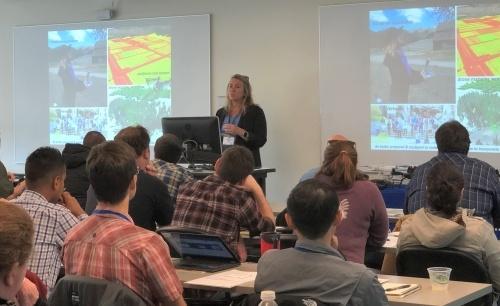Maggi Kelly at DroneCamp 2019
