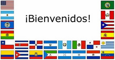 flags of the 21 spanish speaking countries