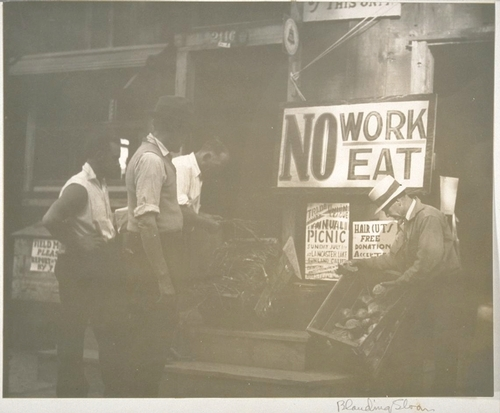 Self-help cooperative in Los Angeles.  Photo from the Bancroft Library, University of California, Berkeley