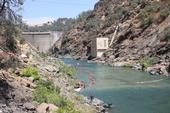 Gravel injection on the lower Yuba River below Englebright dam