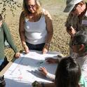 Teachers practice Project WET activities.