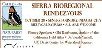 Sierra Bioregional Rendezvous Flyer for SFREC News Blog