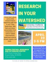 Research in your Watershed