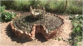African Keyhole Garden Finished