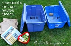 Two bins make retrieval a little easier, but are not necessary.