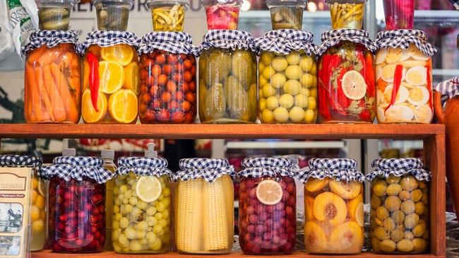 Vegetables, fruits, even eggs lend themselves to pickling (and preserving)