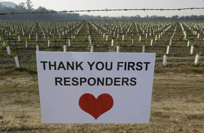 First responders, heartfelt thanks is hardly enough, but HEARTFELT THANKS!