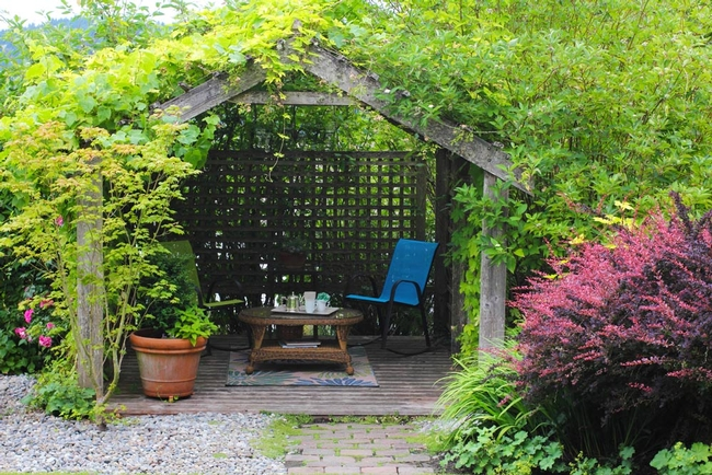 Garden as refuge