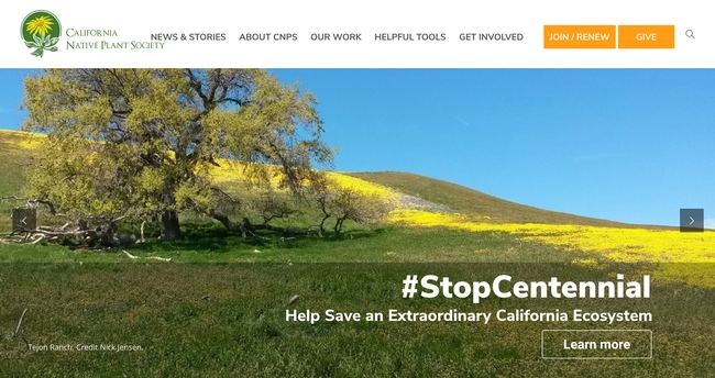 California Native Plant Society (CNPS)