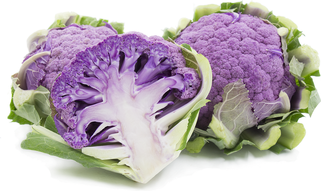 Purple cauliflower (Specialty Produce)