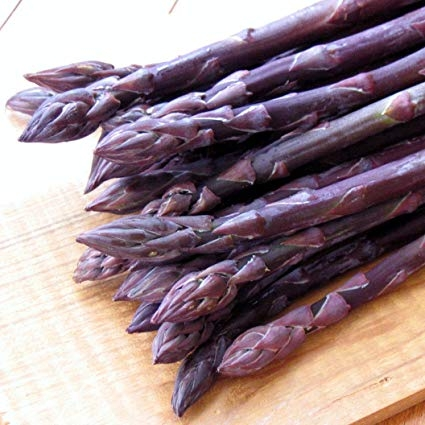 Purple asparagus (Amazon)
