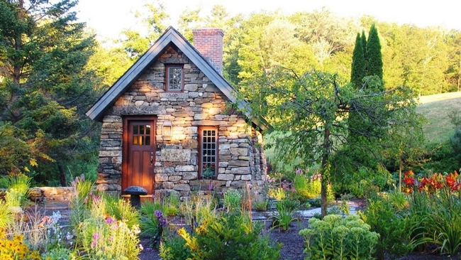 Go out and enjoy the garden.
