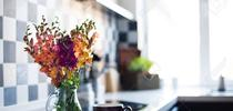 Flowers help a home feel welcome! (123RF) for Napa Master Gardener Column Blog