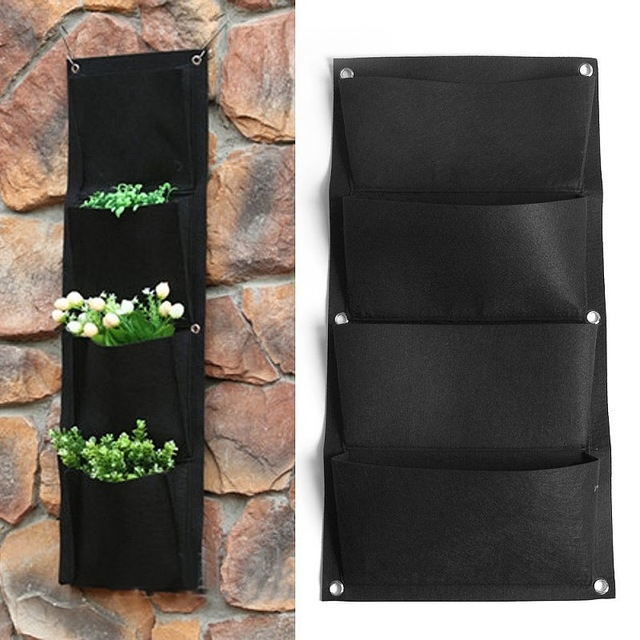 Hanging planting pockets (aliexpress)