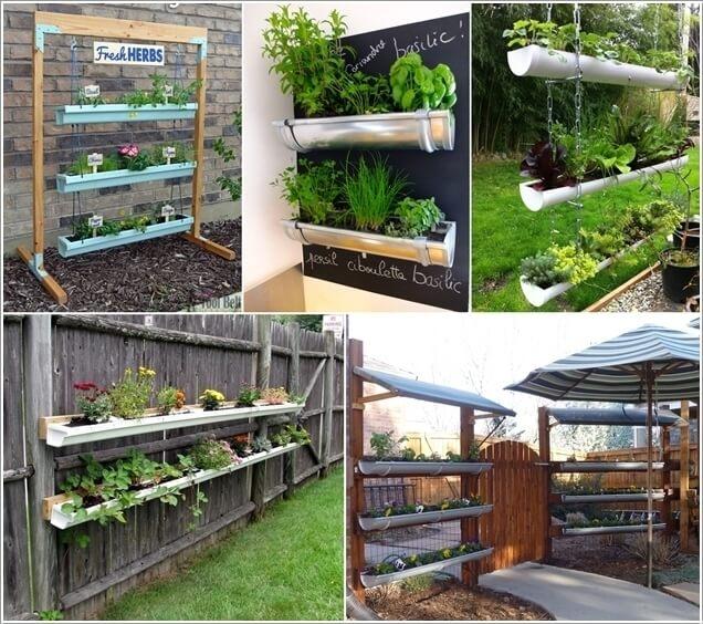 Gutter garden (Amazing Interior Design)