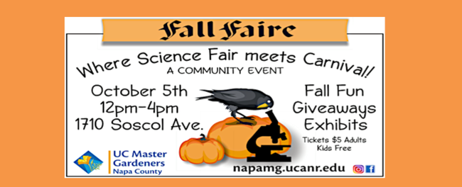 Fall Faire (napamg.ucanr.edu)