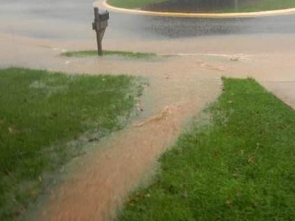 Heavy runoff should be avoided. (Fairfax County)