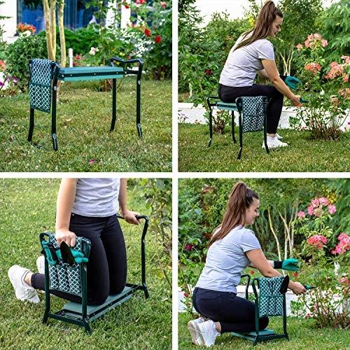 Versatile garden kneeler bench (OutsideModern)