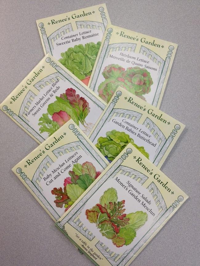 Renee's lettuce seeds (UC ANR)