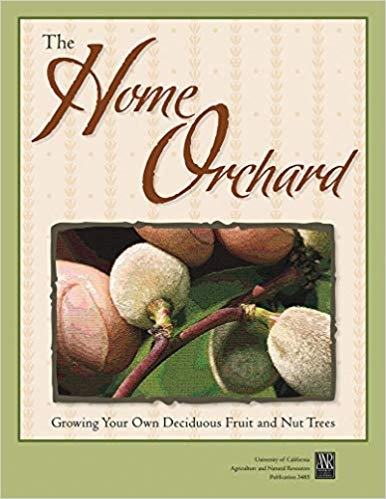 The EVERYTHING book about fruit trees:  The Home Orchard (UC ANR) Available online from UC ANR Publications.     https://anrcatalog.ucanr.edu/Details.aspx?itemNo=3485