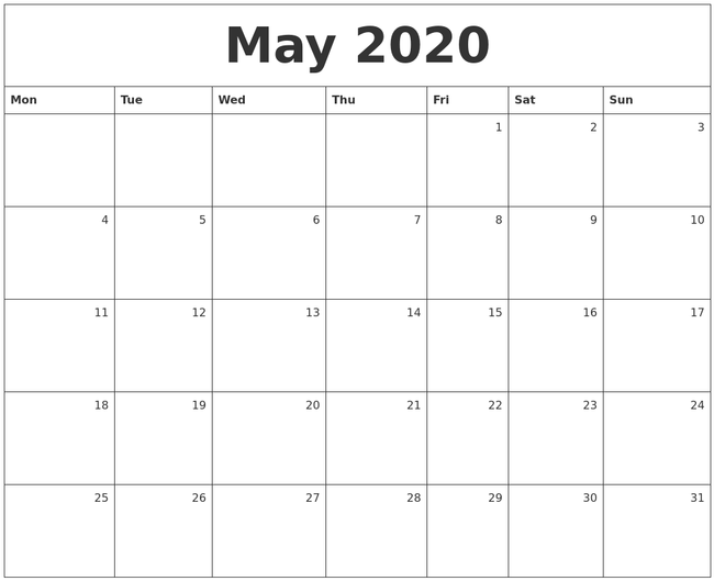 Use a write on calendar for planning (Calendar Zoom)