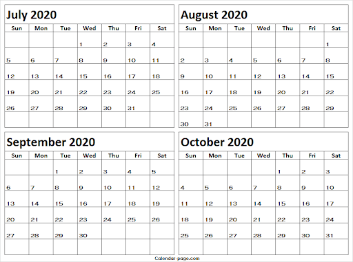 Use that write on calendar for planning as well as notes  (Blank Calendar Page)
