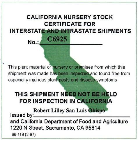 Look for certfied disease free nursery stock (laspilitas.com)