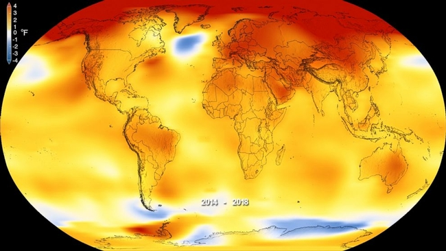 Global temperature change. (abcnews.go.com)