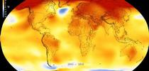 Global temperature change. (abcnews.go.com) for Napa Master Gardener Column Blog