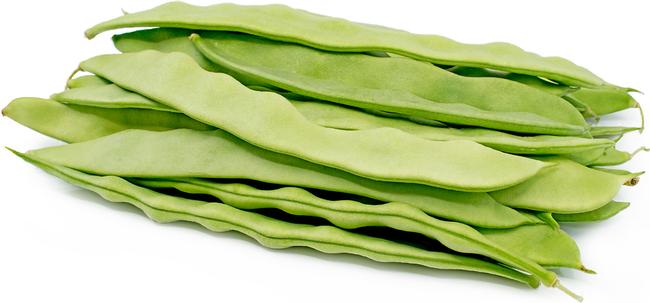 Romano beans, flatter than Blue Lakes.  (specialtyproduce.com)