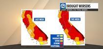 Drought map at 5.6.21. (abc7news.com) for Napa Master Gardener Column Blog