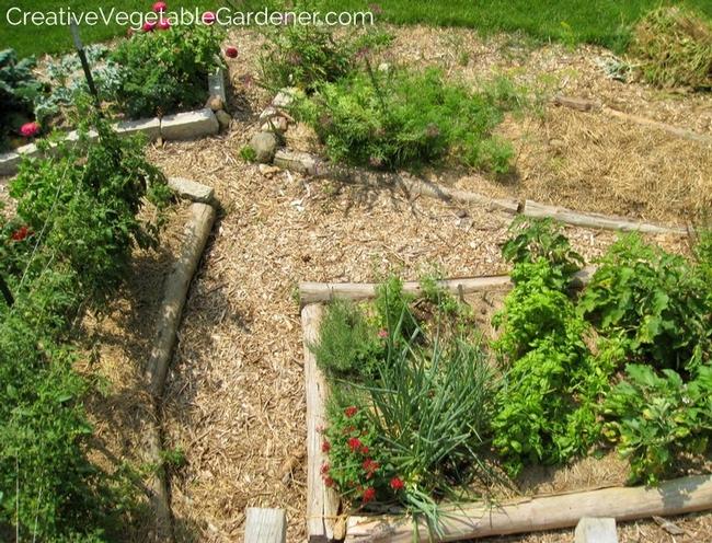 Mulch helps conserve water. (creativevegetablegardener.com)
