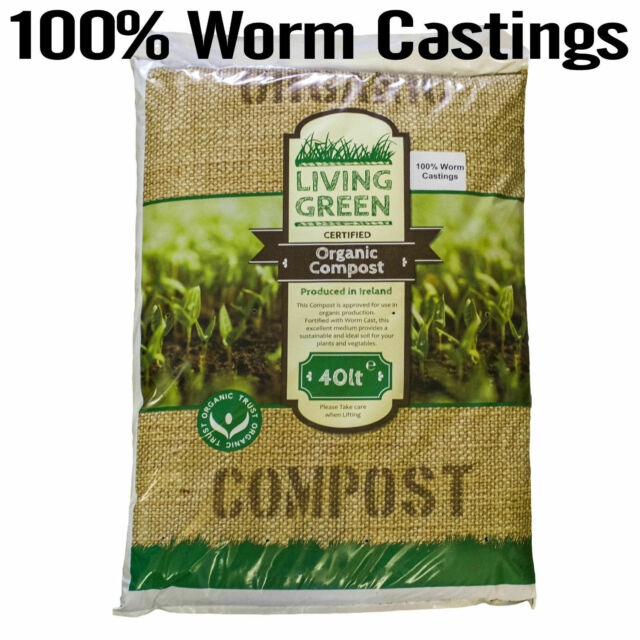 Worm castings, aka worm compost, is also available commercially. (ebay.co.uk)