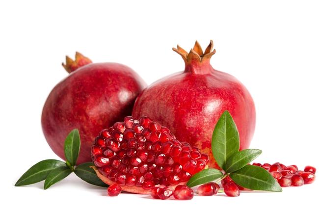 Fresh pomegranates. (norin.co.in)