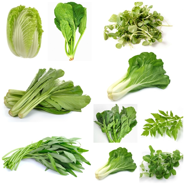 Asian greens. (producemadesimple.ca)