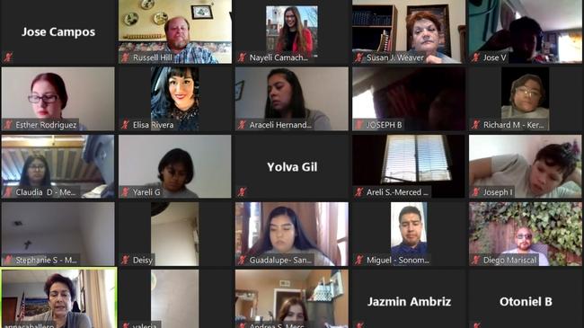 La Academia de verano Juntos se efectuó de manera virtual.