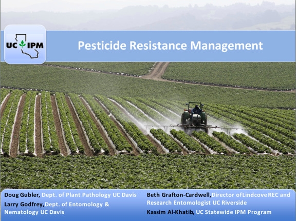Pesticide resistance course