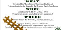 Revolution of Responsibility project for San Benito County 4-H Blog