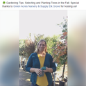 Facebook Live: Tree Selection and Planting