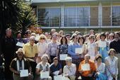 The first graduating class of UC Master Gardener volunteers in Sacramento County.